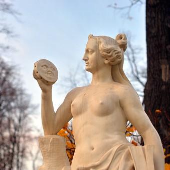 Allegorija resnice v Poletnem vrtu v Stankt Peterburgu